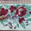 Waverly Floral vintage Wallpaper Border: color of love