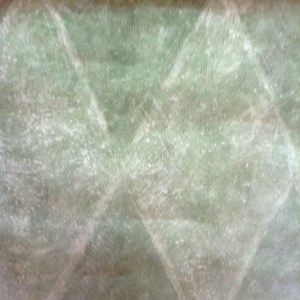 Wallpaper Green Faux Diamond Pattern UK BR75853 D/Rs