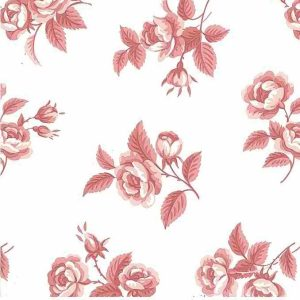 Waverly Roses Vintage Wallpaper Pink Floral 560074 D/Rs