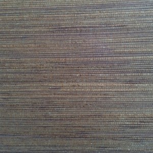 Dark Brown Natural Grasscloth Wallpaper Textured 488-407 Double Rolls