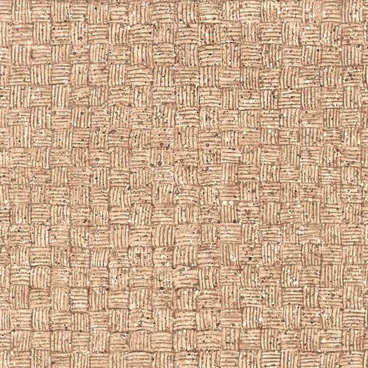 basketweave wallpaper vintage-style, brown, beige, masculine, study, bedroom