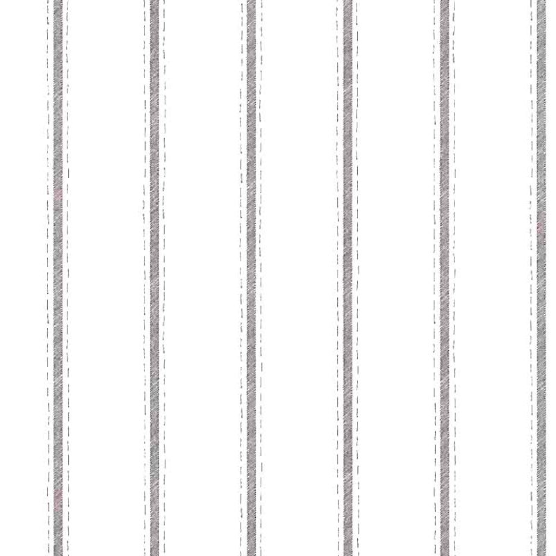 brown striped vintage wallpaper, off-white, ticking, classic, stripe