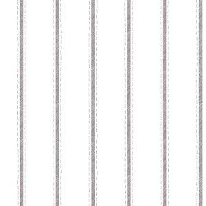 Brown Striped Vintage Wallpaper White GW2321 Double Rolls