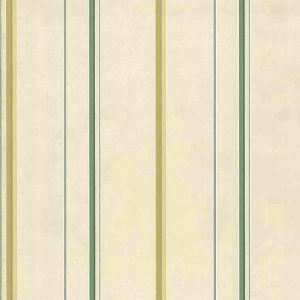 Yellow Striped Vintage Wallpaper Green Blue White YO7196 D/Rs