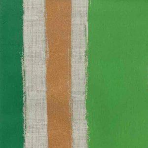 Copper Striped Wallpaper Modern Green 769005 Double Rolls