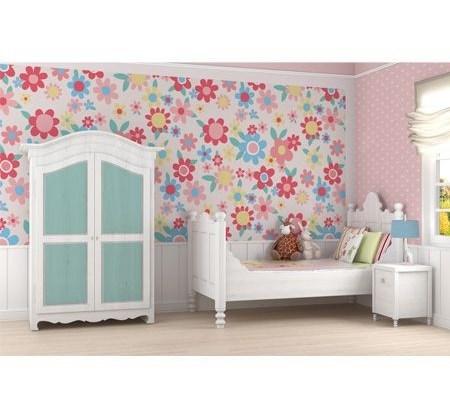 Summer Themed Wallpaper adds brightness, pink, orange, yellow