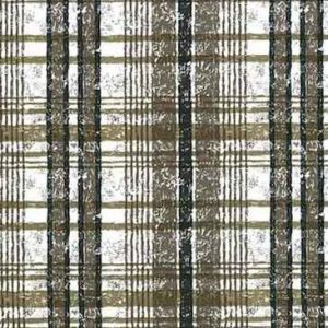Vintage Brown Plaid Wallpaper Black White Stripes FK11400 D/Rs