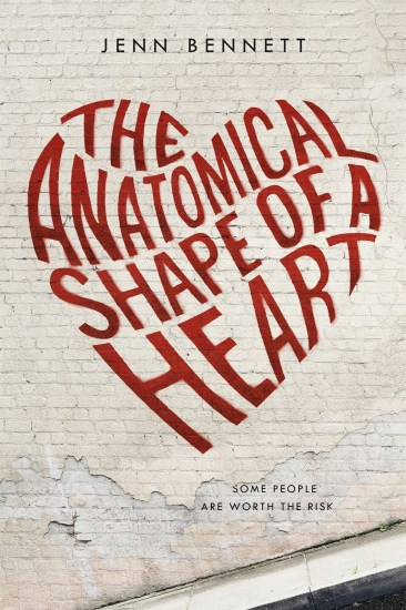 Book Review – The Anatomical Shape of a Heart by Jenn Bennett