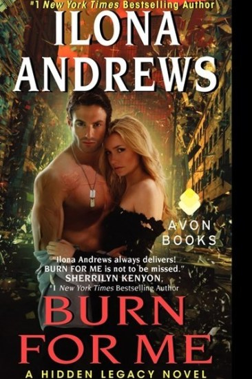 Book Review – Burn for Me (Hidden Legacy #1) by Ilona Andrews