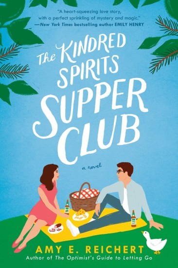 Release Day Feature | The Kindred Spirits Supper Club by Amy E. Reichert