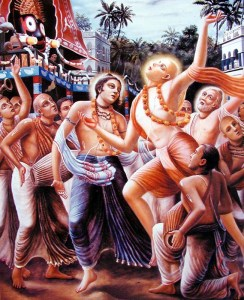 Mahaprabhu at Jagannath Puri