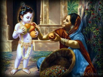 Krishna gives opulence to His devotees