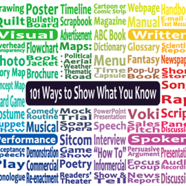 101 Ways to Show What You Know