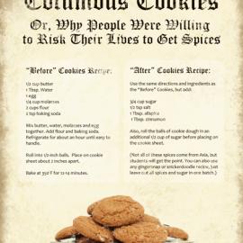Columbus Day Cookies