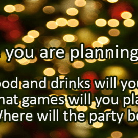 Writing Prompt for December 13: Party