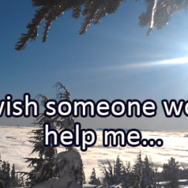 Writing Prompt for December 7: Help