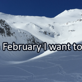 Writing Prompt for February 1: February