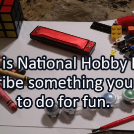 Writing Prompt for January 15: Hobbies
