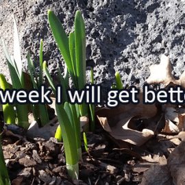 Writing Prompt for March 19: Getting Better