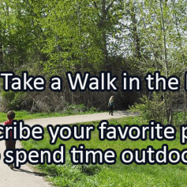 Writing Prompt for March 30: Walk in the Park