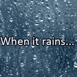 Writing Prompt for April 6: Rain