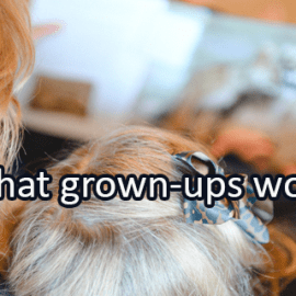 Writing Prompt for April 13: Grown-Ups