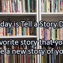 Writing Prompt for April 27: Tell a Story