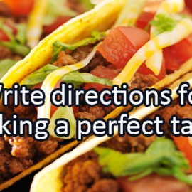 Writing Prompt for May 6: Tacos