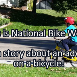 Writing Prompt for May 16: Bike Week!