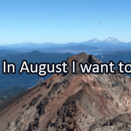 Writing Prompt for August 1: August