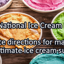 Writing Prompt for July 5: Ice Cream Month!