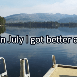 Writing Prompt for July 31: Getting Better