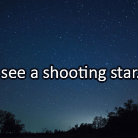 Writing Prompt for August 13: Shooting Star