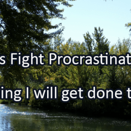 Writing Prompt for September 6: Fight Procrastination!