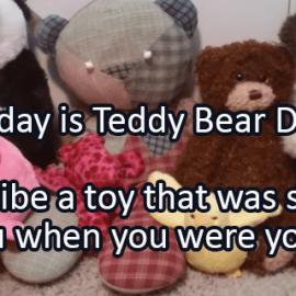 Writing Prompt for September 9: Teddy Bear