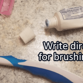 Writing Prompt for October 18: Brushing Teeth