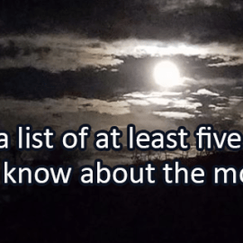 Writing Prompt for November 27: Moon