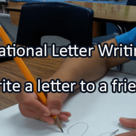 Writing Prompt for January 12: Write a Letter