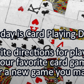 Writing Prompt for December 28: Cards
