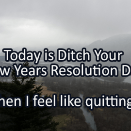 Writing Prompt for January 17: Quit?