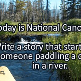 Writing Prompt for June 26: Canoe