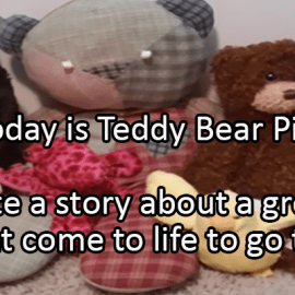 Writing Prompt for July 10: Teddy Bear Picnic