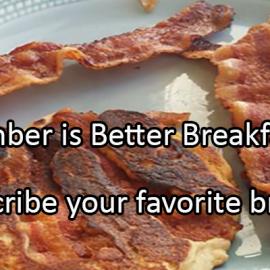 Writing Prompt for September 4: Better Breakfast