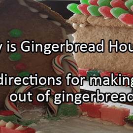Writing Prompt for December 12: Gingerbread House