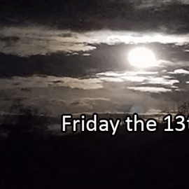 Writing Prompt for March 13: Friday the 13th