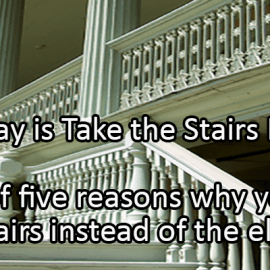 Writing Prompt for January 8: Take the Stairs