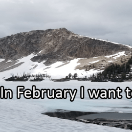 Writing Prompt for February 3: Try This Month