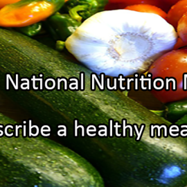 Writing Prompt for March 2: Nutrition