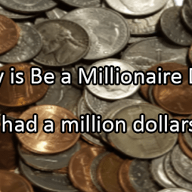 Writing Prompt for May 20: Millionaire