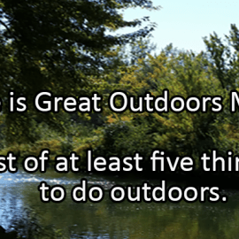 Writing Prompt for June 9: Outdoors